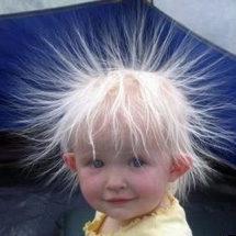髪の毛と静電気