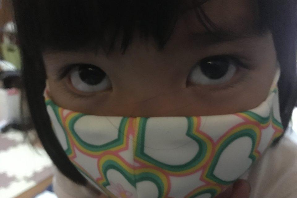 いただいたマスク
